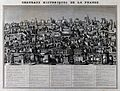 Architecture; a capricchio, grouping famous houses of France Wellcome V0025760.jpg