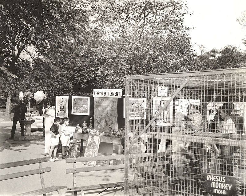 Archives of American Art - Federal Art Project%27s Children%27s festival in Central Park - 12046.jpg