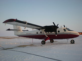 Arctic Sunwest Charters - Arctic Sunwest Charters de Havilland Canada DHC-6 Twin Otter GARW at Cambridge Bay Airport