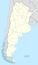 Capitán Bermúdez is located in Argentina
