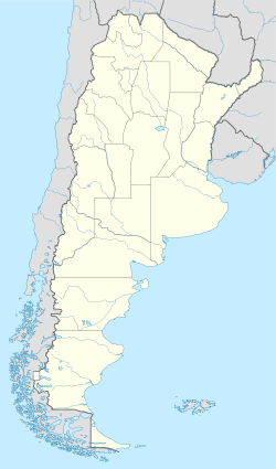 Comodoro Rivadavia is located in Argentina