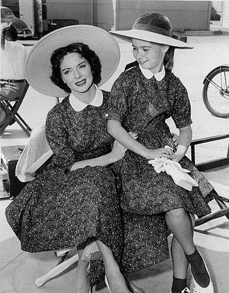 "Warner Bros. Presents - Arleen Whelan and Lydia Reid in ""Shadow on the Sand"", 1955"