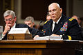 Army Chief of Staff Gen. Ray Odierno briefs senators as Army Secretary John M. McHugh listens during a hearing before the Senate Armed Services Committee in Washington, D.C., April 3, 2014 20140403-A-ZZ999-5555.jpg