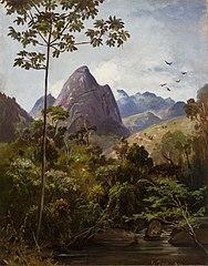 Arredores de Petrópolis, Pedra do Cone (atribuído)