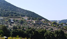 A general view of Arro village
