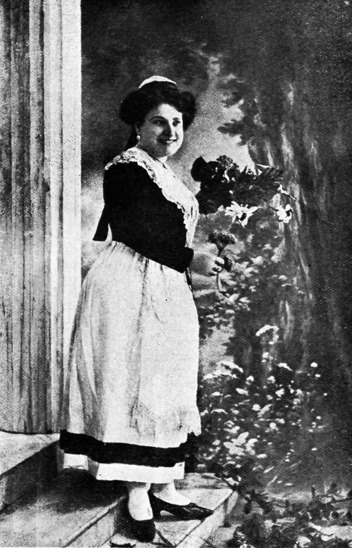 Artemis Kiparissi (Greek soprano) as Mireille