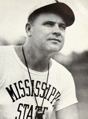 Arthur Morton (American football) - Morton pictured in Reveille 1950, Mississippi State yearbook