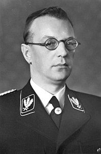 austrian chancellor and politician, convicted of crimes against humanity in Nuremberg Trials and sentenced to death by hanging
