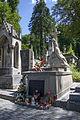 Artur Grottger - Lwów Cmentarz Łyczakowski - widok z prawej strony.JPG