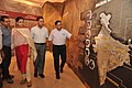 Arun Goel Visits Science And Technology Heritage Of India Gallery With NCSM Dignitaries - Science City - Kolkata 2018-09-23 4331.JPG