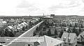 Arvida, vue depuis le toit de l eglise Sainte-Therese vers l usine en 1933.jpg