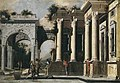 Ascanio Luciano – Ruins and columns in composite order with arch.jpg