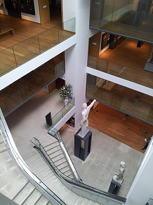 Ashmolean Museum - Renovated Ashmolean central atrium