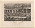 Assemblée nationale, abandon de tous les privileges, à Versailles sceance de la nuit du 4 au 5 aout 1789 - dessiné par C. Monnet, peintre du Roi ; gravé par Helman, de l'Académie des Arts de LCCN2014645199.jpg