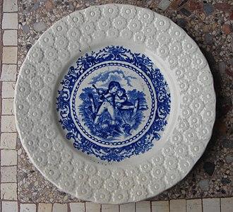Assiette Porcelaine Decor Noel