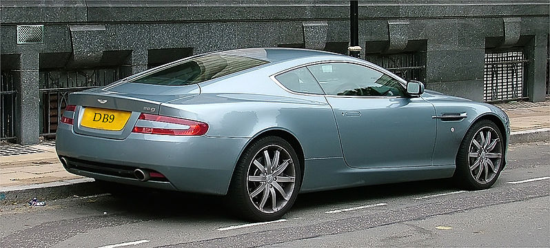 Original OEM Factory Aston Martin DB9 19 inch WHEELS New Michelin ...