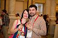 At LOC Wikimania 2012 Google Opening Reception 3.jpg
