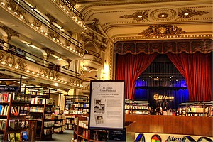 El Ateneo Grand Splendid - Image: Ateneo Grand Splendid interior 02 TM