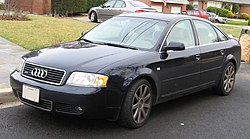 Audi (C5) A6 saloon this is Audi 100 in the picture