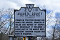 Augusta County Area 1006 Square Miles historical marker.jpg