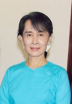 Suu Kyi Image: World Economic Forum.