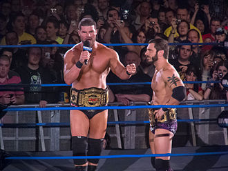 Austin Aries - Aries and Bobby Roode as the TNA World Tag Team Champions