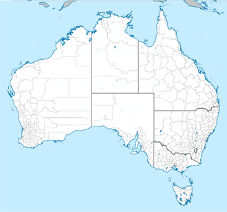 Local government in Australia - Local government areas in Australia