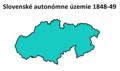 Autonóme Slovensko 1848.png
