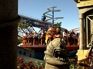 Nickelodeon in amusement parks - Image: Avatar Airbender (Nickelodeon Land)
