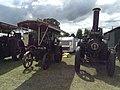 Aveling & Porter traction engine 'Julie'; Clayton & Shuttleworth traction engine 'Elizabeth' (15287218079).jpg