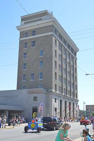 National Register of Historic Places listings in Morgan County, Illinois - Image: Ayers Bank Building in Jacksonville