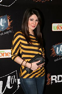 Ayesha Omer Pakistani actor, singer and model