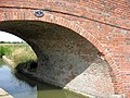 Aylesbury Arm, Sloping Brickwork on Bridge No 13 - geograph.org.uk - 1445806.jpg