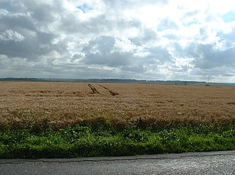 Azincourt - Site of the battle of Agincourt