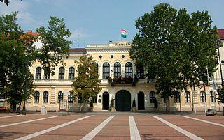 Békéscsaba City with county rights in Békés, Hungary