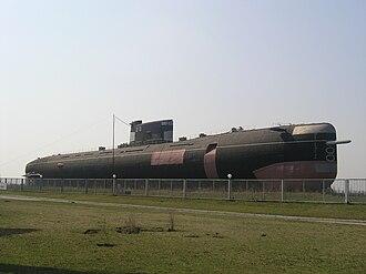 Tango-class submarine - Image: B 307, Togliatti. Russia 1