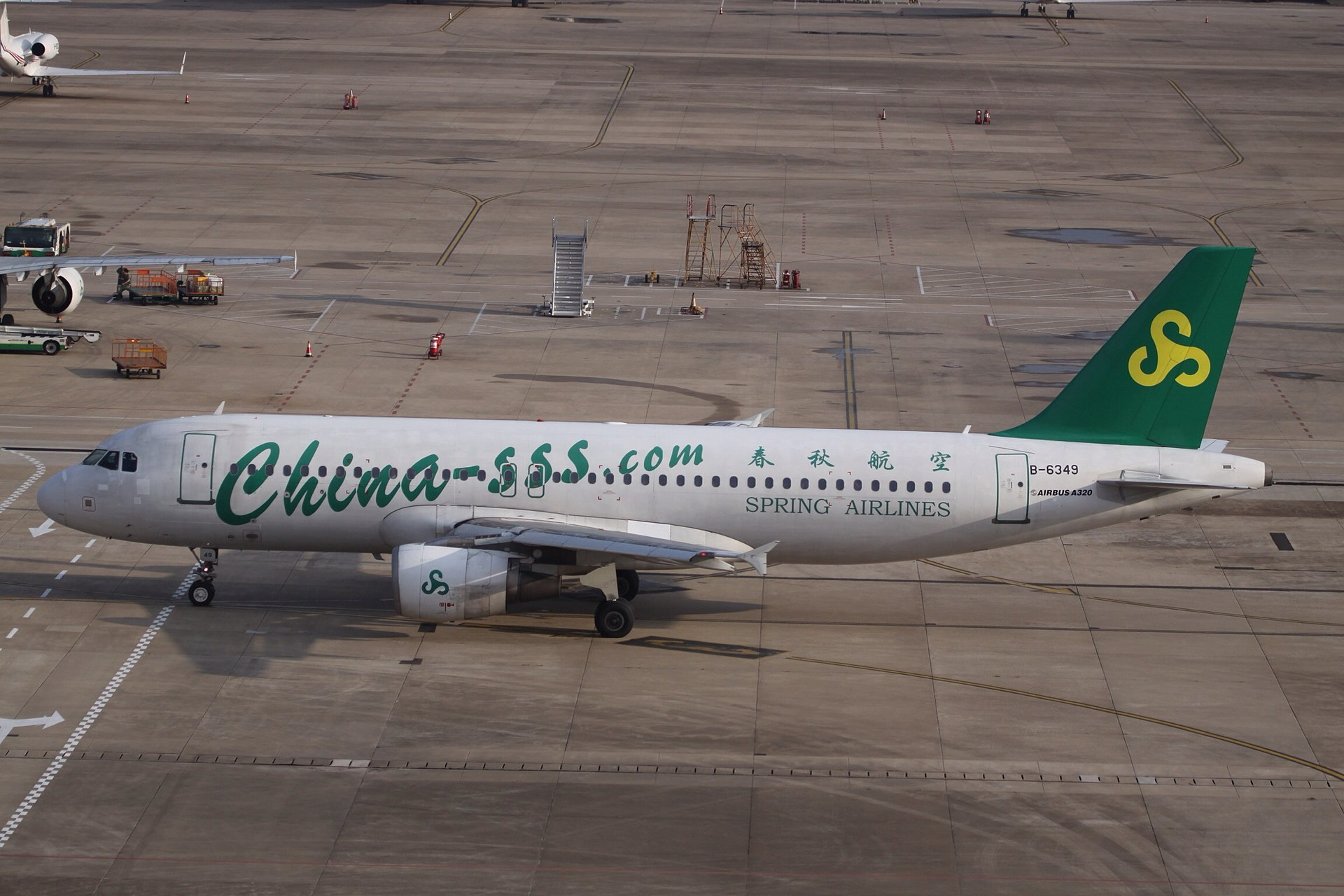 Largest Airline by market cap: Spring Airlines