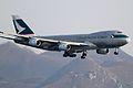 B-HUL - 747-467F - Cathay Pacific - HKG (6978020334).jpg
