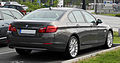 BMW 520d (F10) – Heckansicht, 12. Juni 2011, Düsseldorf.jpg