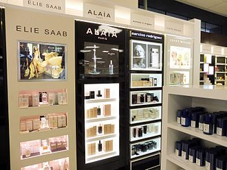 Shiseido - BPI brands at independent New Zealand department store Ballantynes in Christchurch