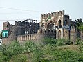 Bab uz Zafar (Gate of success), with its adjascent Fateh Burj.jpg