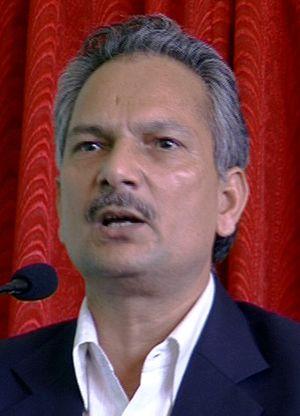 Baburam Bhattarai - Image: Baburam Bhattarai (cropped)