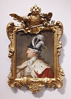 Bacciarelli Stanislaus Augustus in a feathered hat 01.jpg