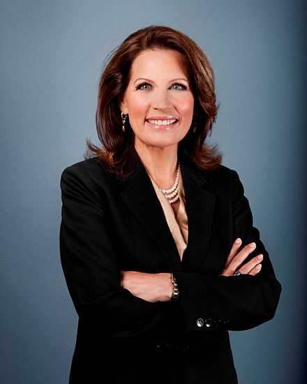 Michelle Bachmann, Republican in Congress from Minnesota, 2007 to 2015. Bachmann2011.jpg