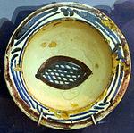 Bacino ceramico da facciata del duomo di s. miniato, nord-africa, 1190 ca. 16.JPG
