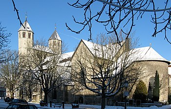 Collegiate Church of the Gandersheim Monastery in Bad Gandersheim