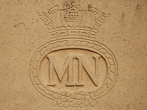 Merchant Navy (United Kingdom) - Badge of the British Merchant Navy