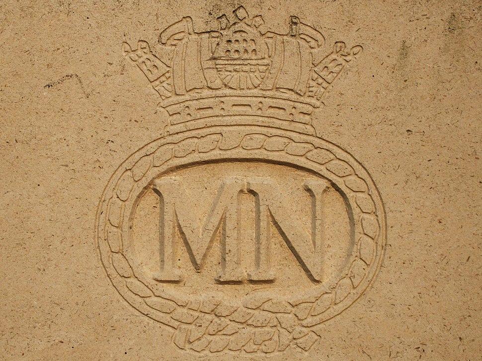 Badge of British Merchant Navy