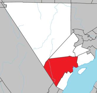 Baie-Saint-Paul - Image: Baie Saint Paul Quebec location diagram