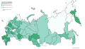 Baisse du taux d'avortement entre 2010 et 2104 par sujet de la Fédération de Russie.png